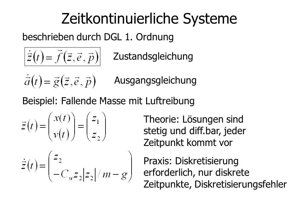 Zeitkontinuierliche Systeme