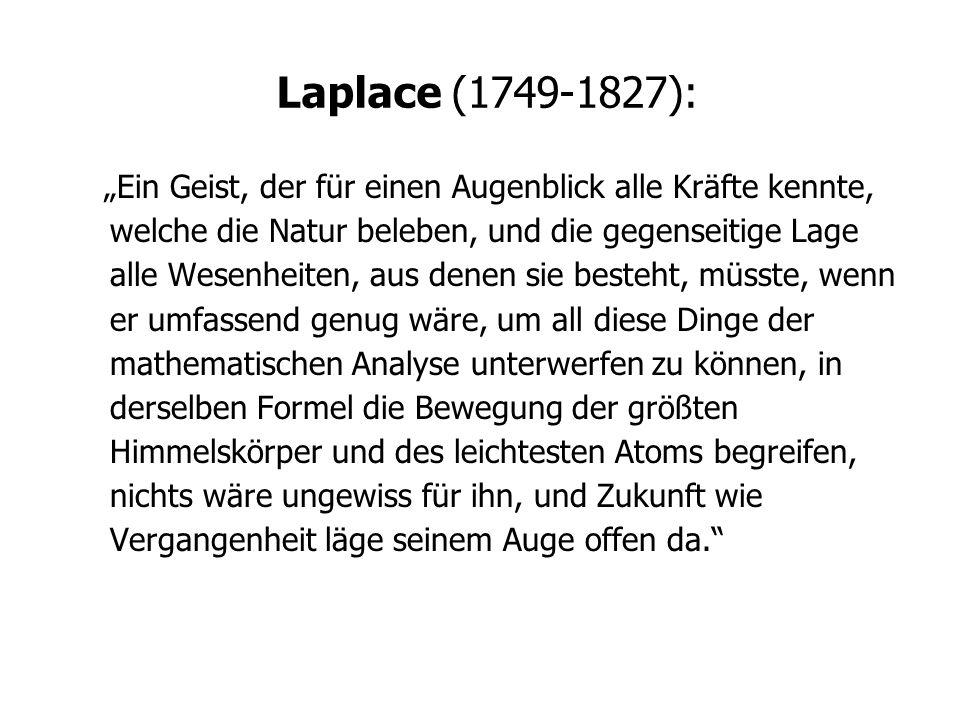 Laplace (1749-1827):