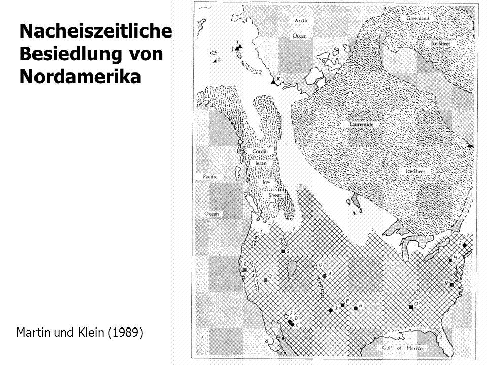 Nacheiszeitliche Besiedlung von Nordamerika
