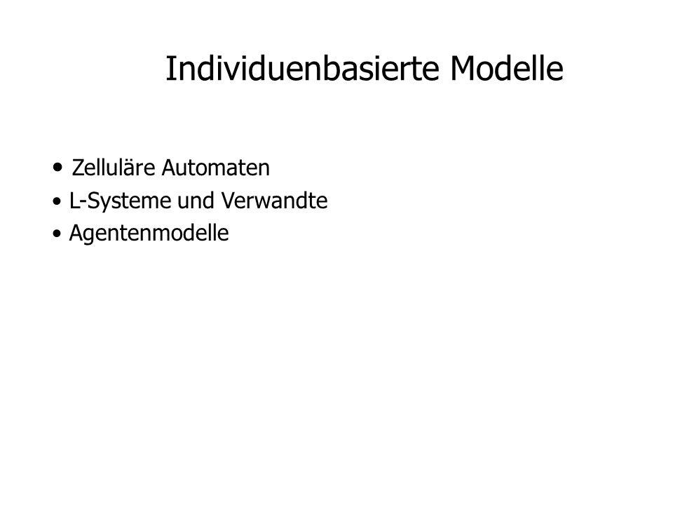 Individuenbasierte Modelle