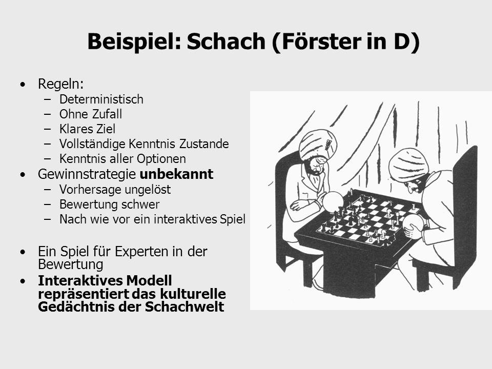 Beispiel: Schach (Förster in D)