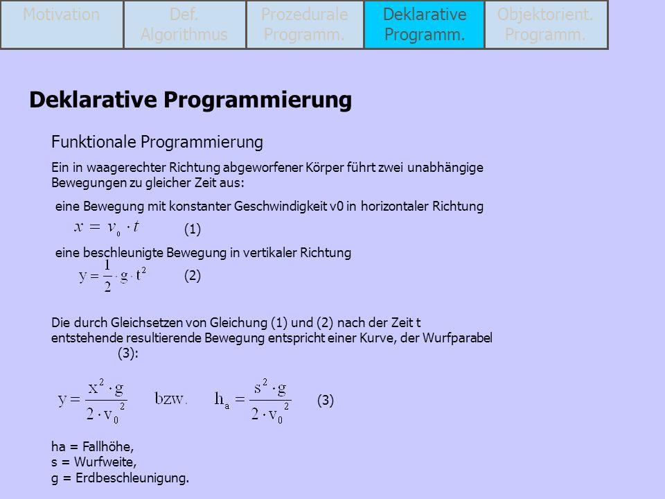 Objektorient. Programm.