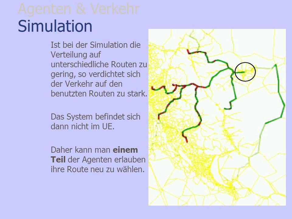 Simulation Agenten & Verkehr