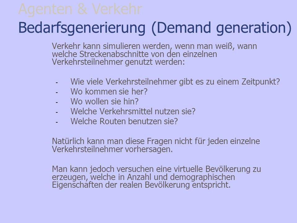 Bedarfsgenerierung (Demand generation)