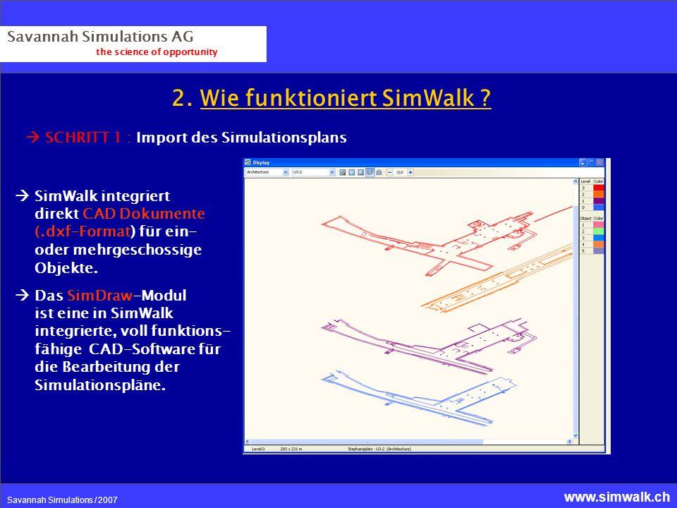 2. Wie funktioniert SimWalk