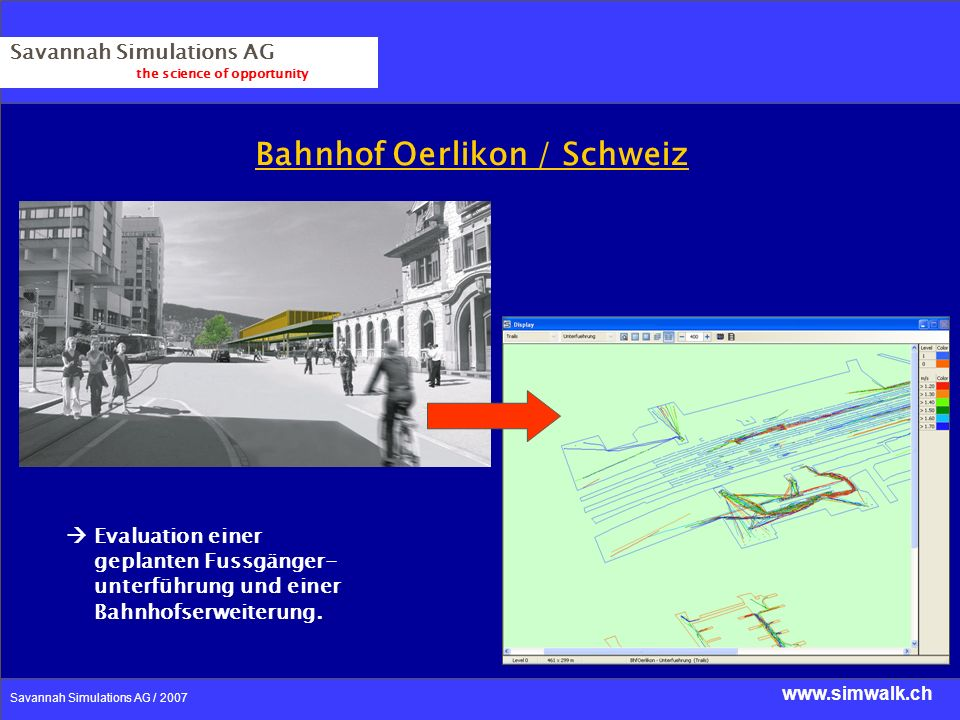 Bahnhof Oerlikon / Schweiz