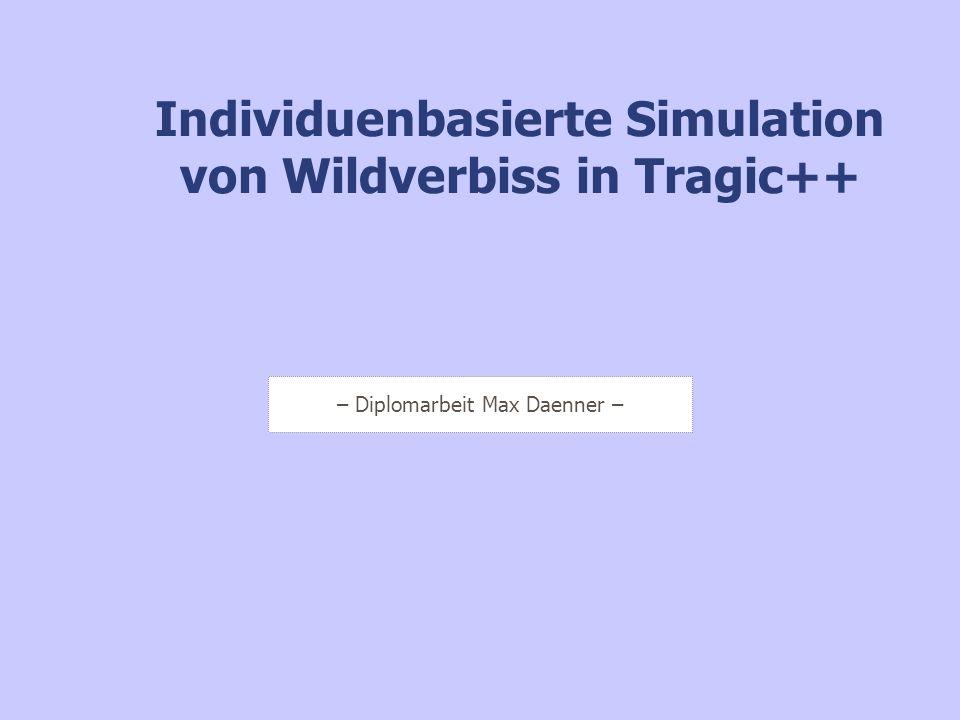 Individuenbasierte Simulation von Wildverbiss in Tragic++
