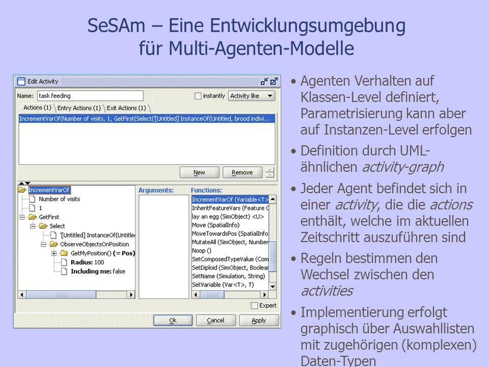 SeSAm – Eine Entwicklungsumgebung für Multi-Agenten-Modelle