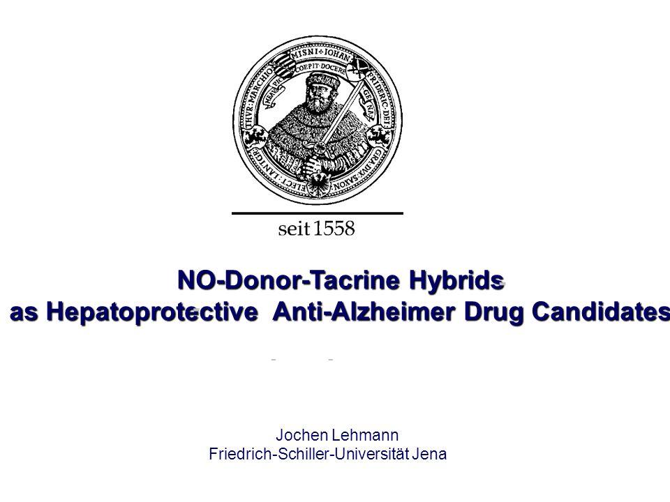NO-Donor-Tacrine Hybrids