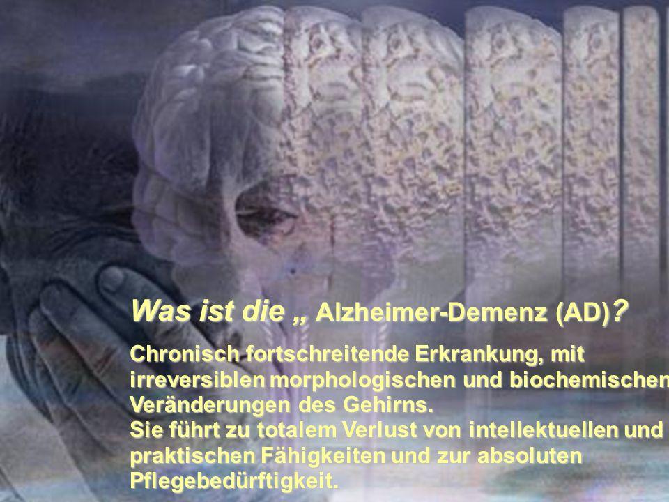 """Was ist die """" Alzheimer-Demenz (AD)"""