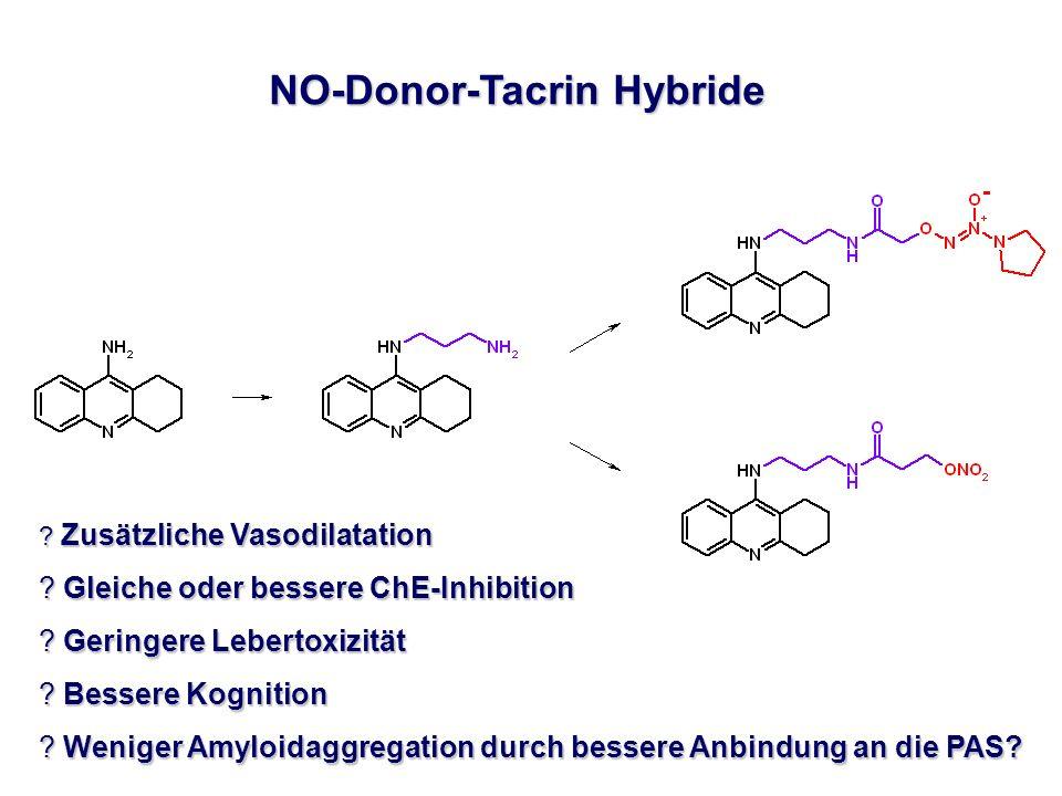 NO-Donor-Tacrin Hybride