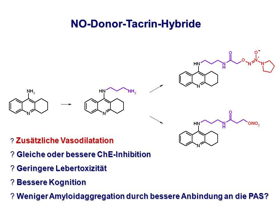 NO-Donor-Tacrin-Hybride