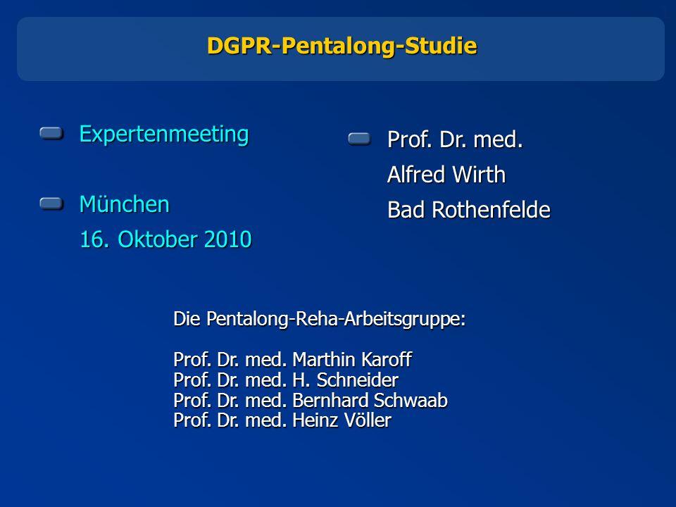 DGPR-Pentalong-Studie
