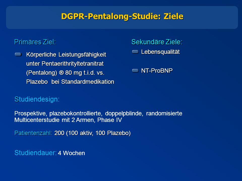 DGPR-Pentalong-Studie: Ziele