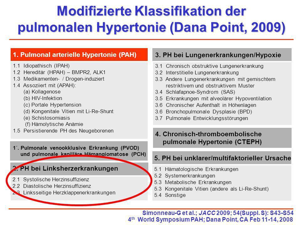 Modifizierte Klassifikation der