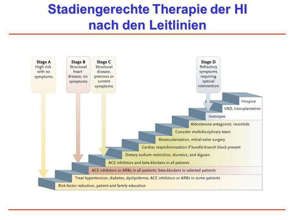 Stadiengerechte Therapie der HI