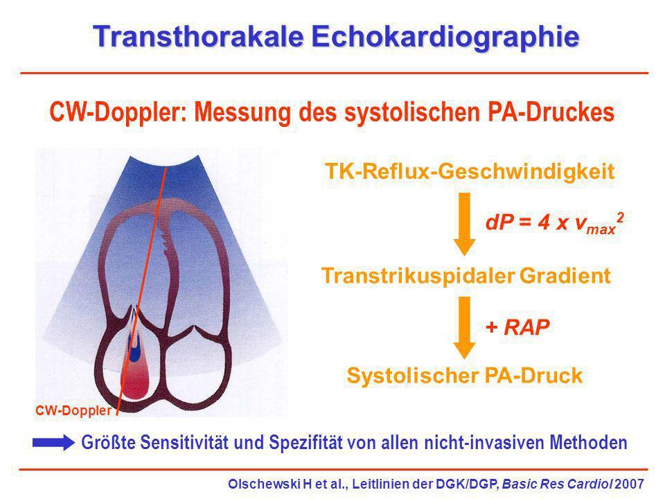 Transthorakale Echokardiographie
