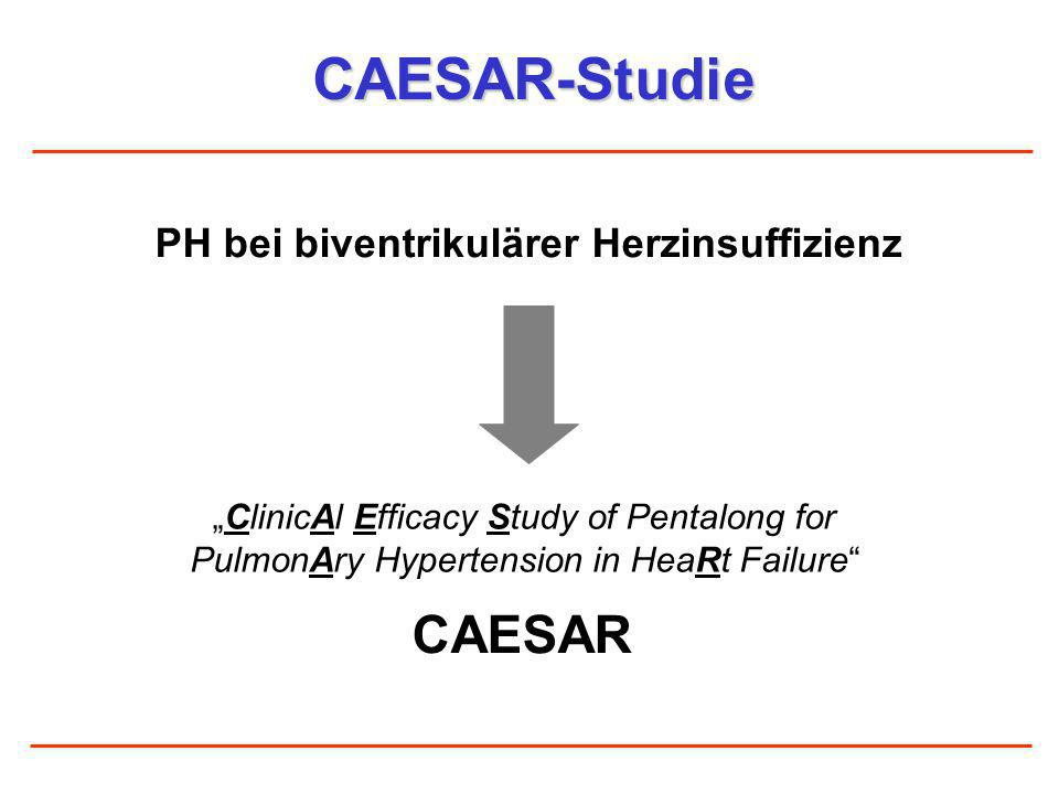PH bei biventrikulärer Herzinsuffizienz
