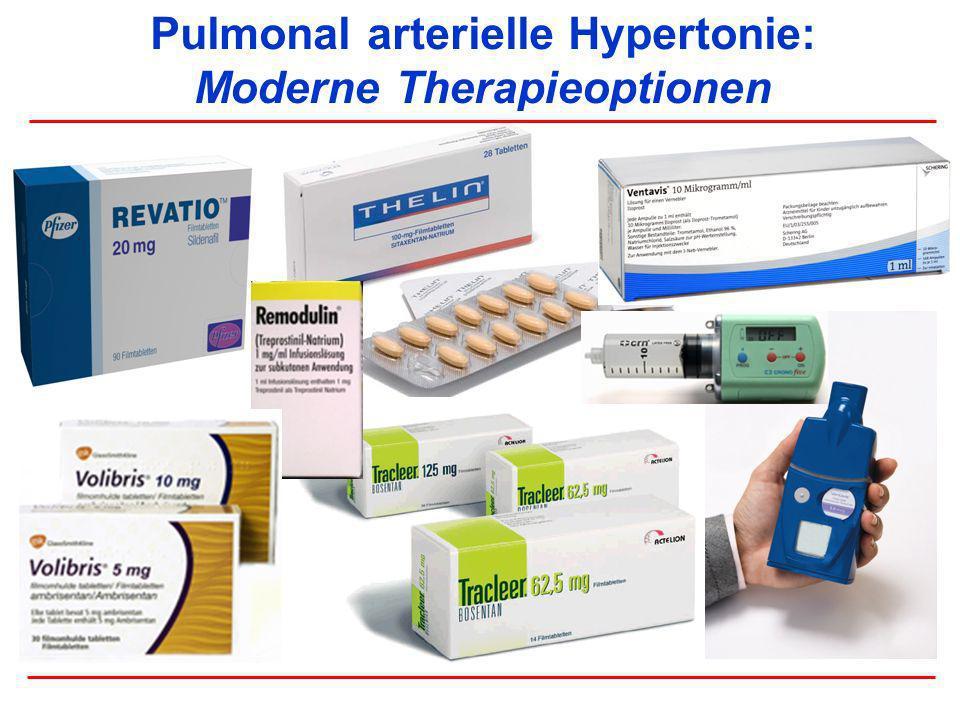 Pulmonal arterielle Hypertonie: Moderne Therapieoptionen
