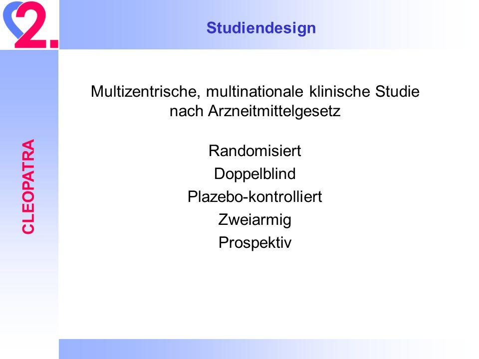 Studiendesign CLEOPATRA
