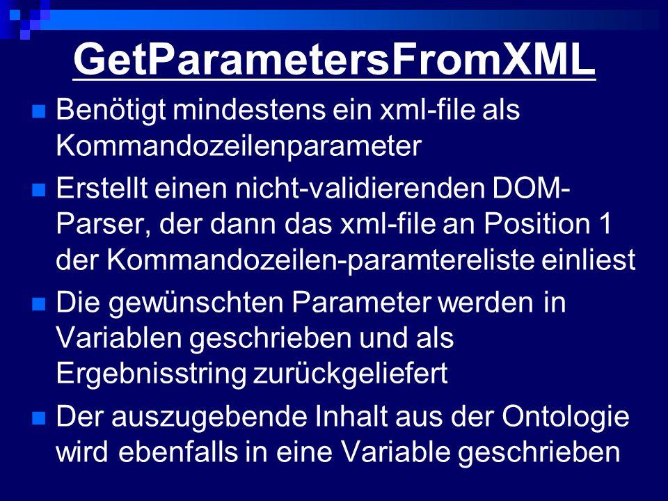 GetParametersFromXML