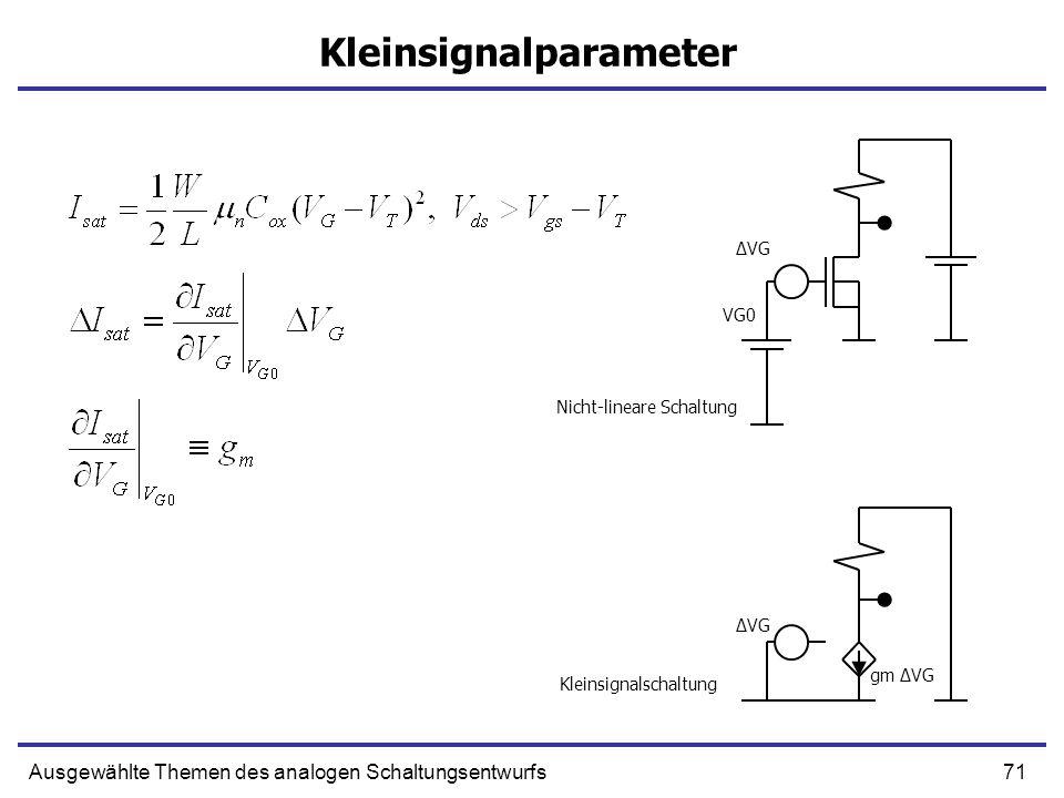 Kleinsignalparameter