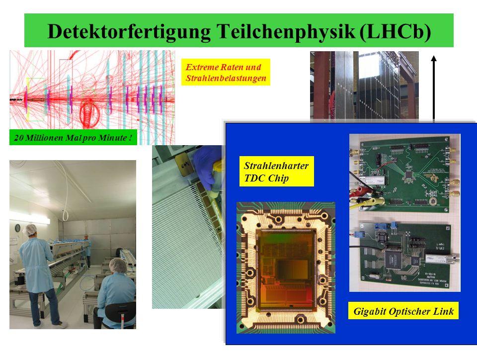 Detektorfertigung Teilchenphysik (LHCb)