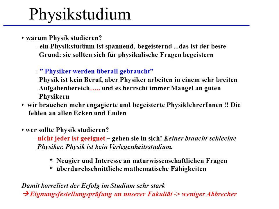 Physikstudium warum Physik studieren