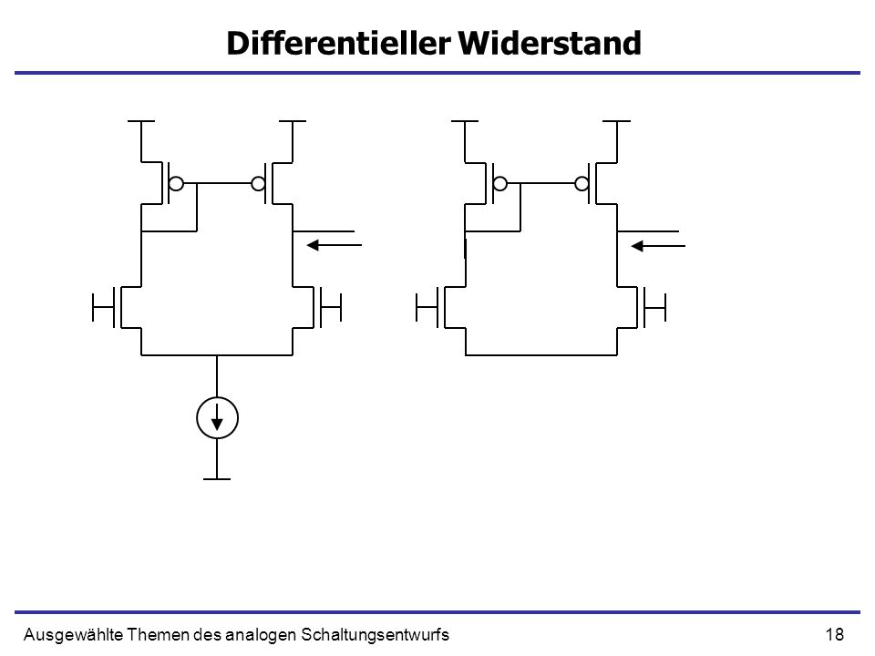 Differentieller Widerstand