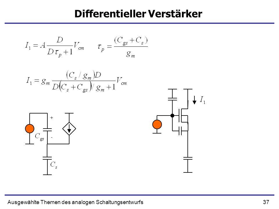 Differentieller Verstärker