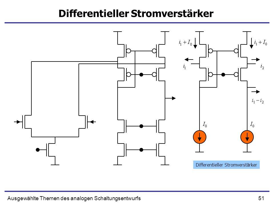 Differentieller Stromverstärker