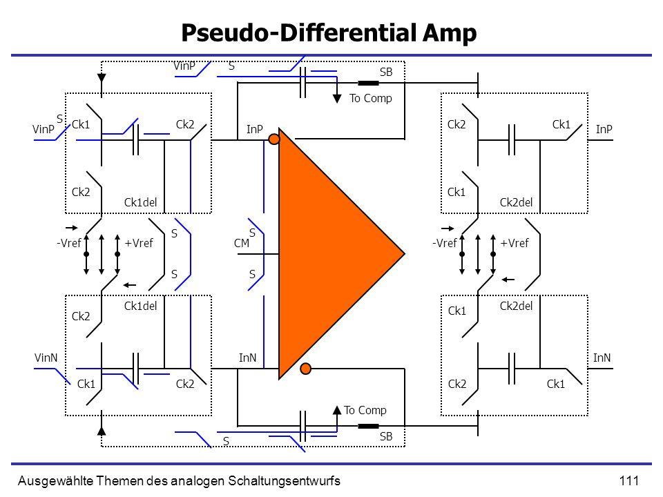 Pseudo-Differential Amp