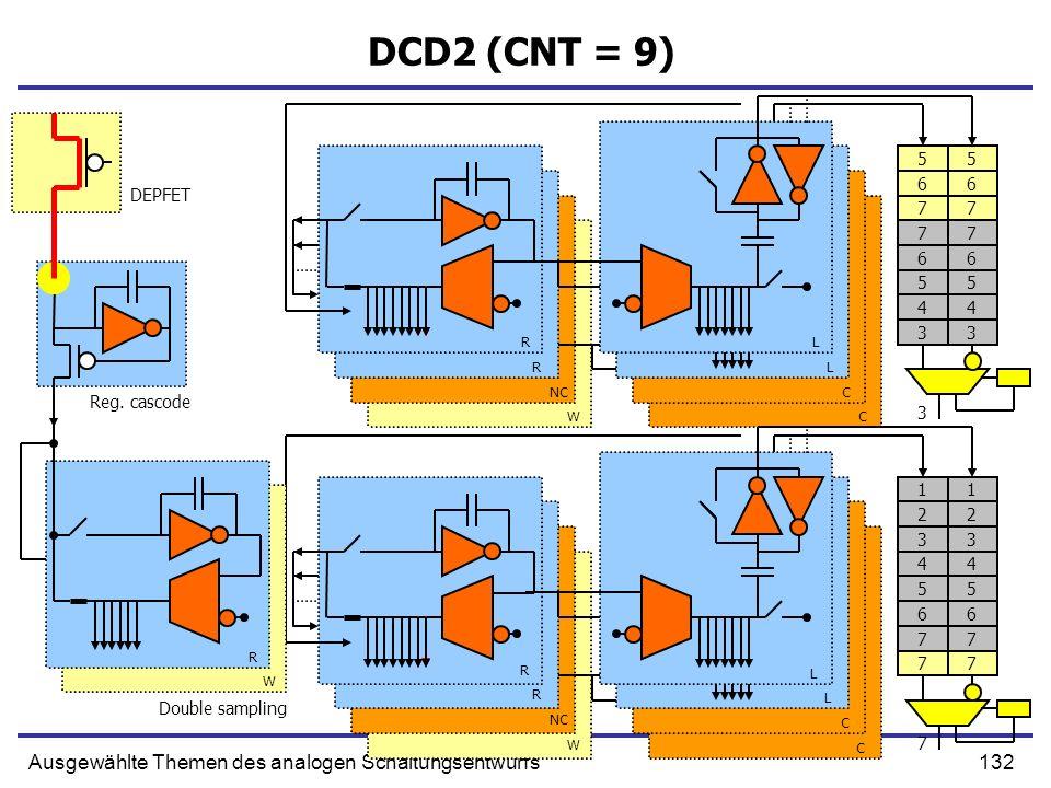 DCD2 (CNT = 9) Ausgewählte Themen des analogen Schaltungsentwurfs 5 5