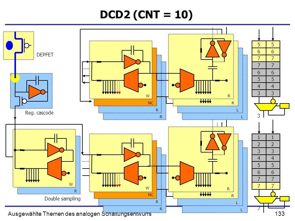 DCD2 (CNT = 10) Ausgewählte Themen des analogen Schaltungsentwurfs 5 5