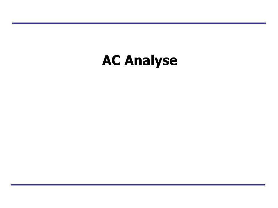 AC Analyse
