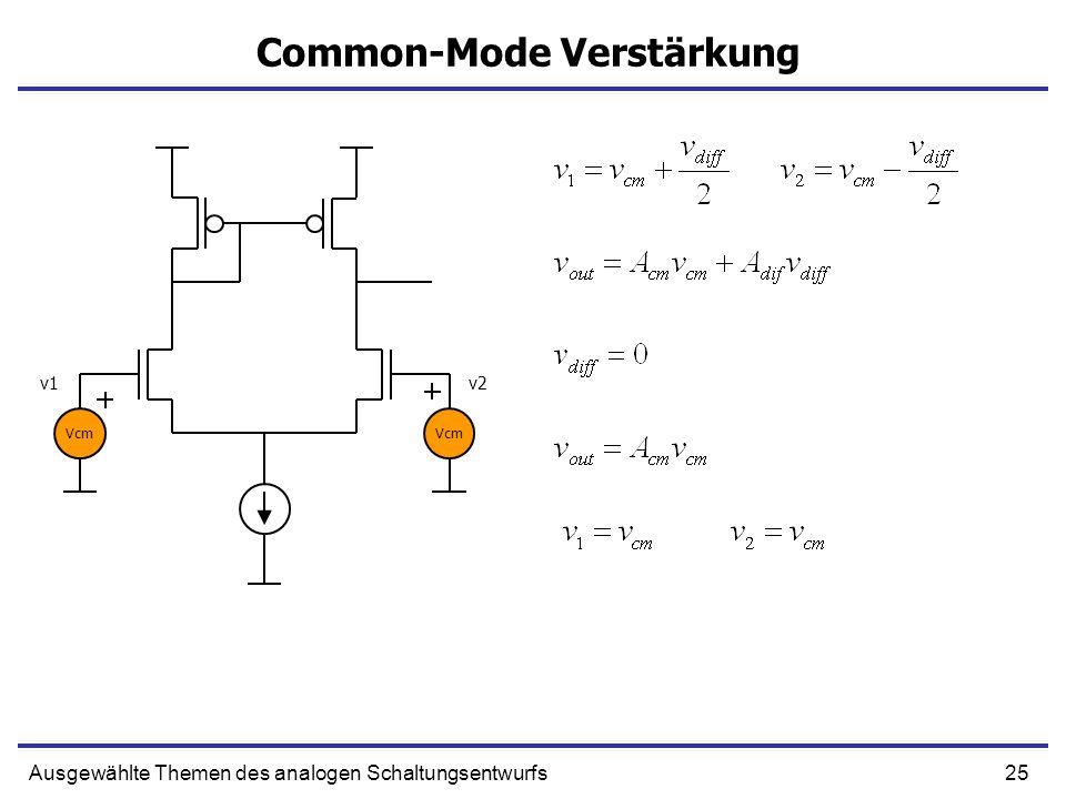 Common-Mode Verstärkung