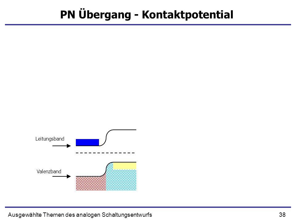 PN Übergang - Kontaktpotential