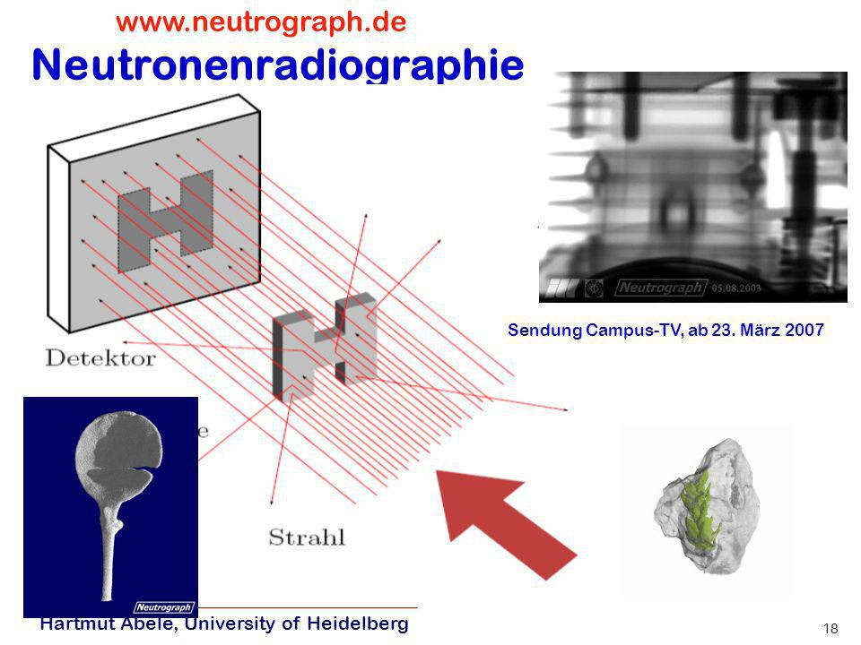 Neutronenradiographie