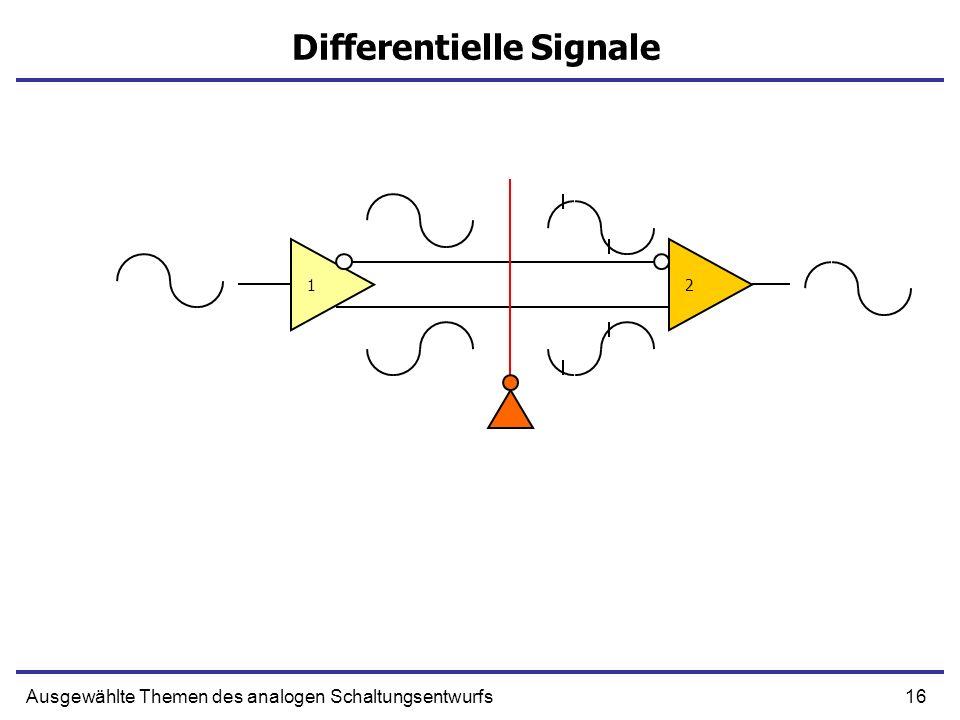 Differentielle Signale