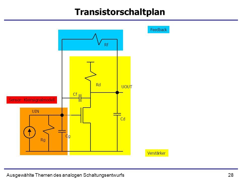 Transistorschaltplan