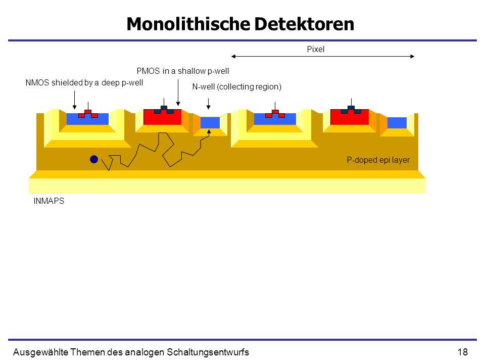 Monolithische Detektoren