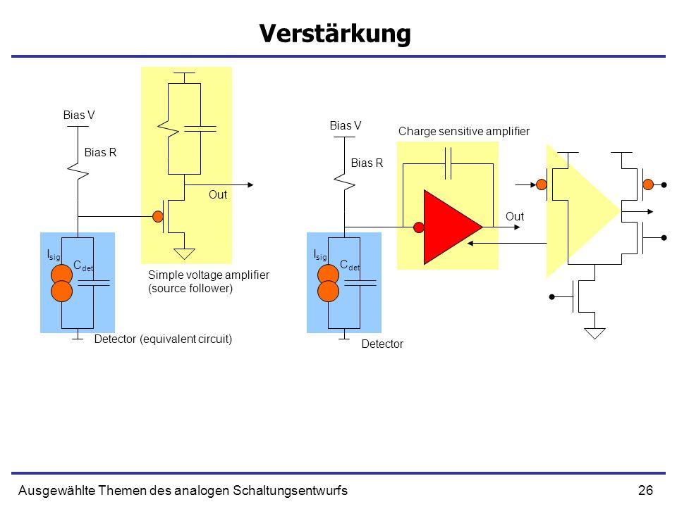 Detector (equivalent circuit)