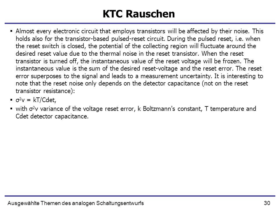 KTC Rauschen