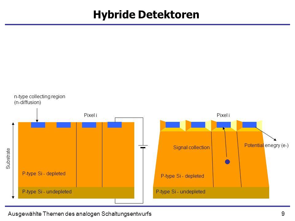 Hybride Detektoren Ausgewählte Themen des analogen Schaltungsentwurfs