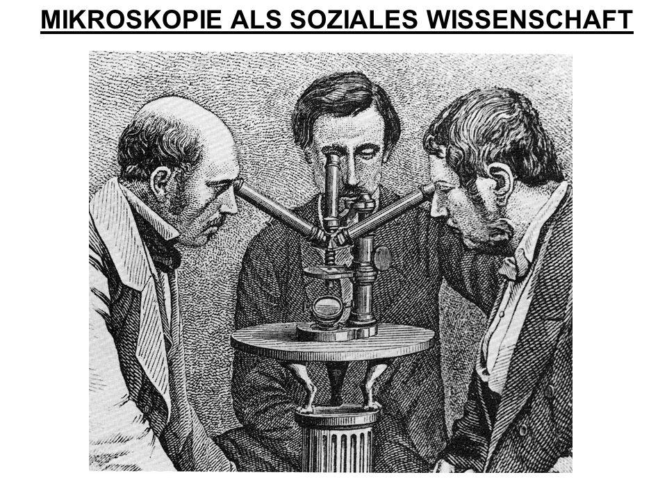MIKROSKOPIE ALS SOZIALES WISSENSCHAFT