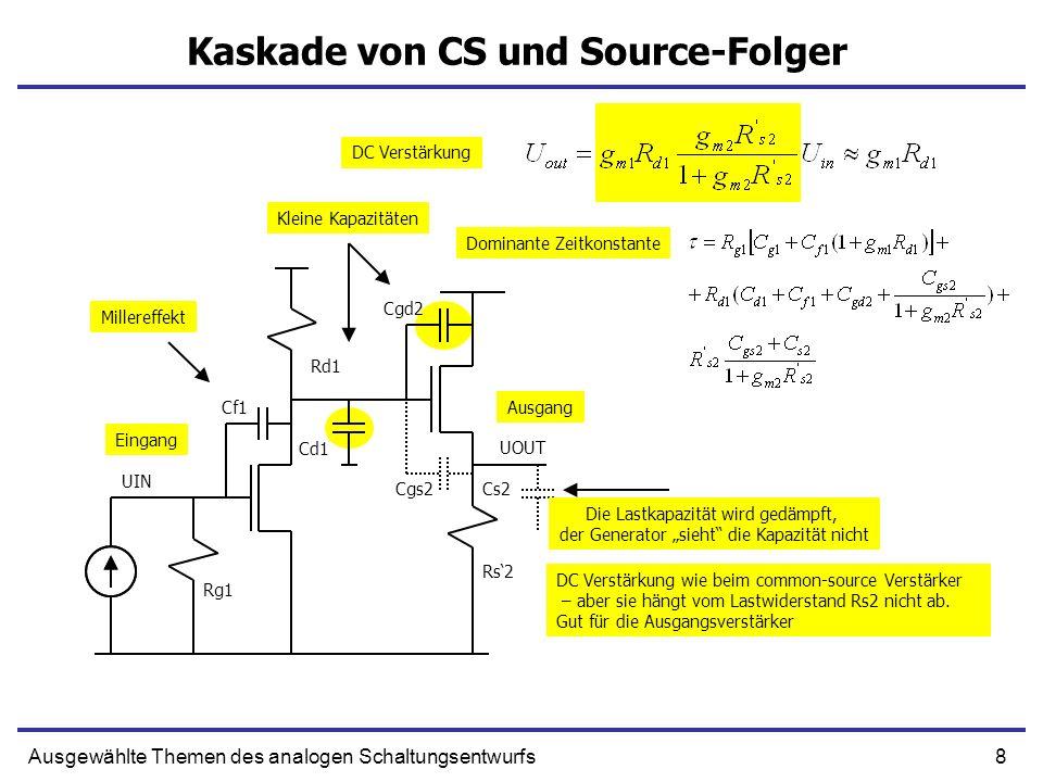 Kaskade von CS und Source-Folger