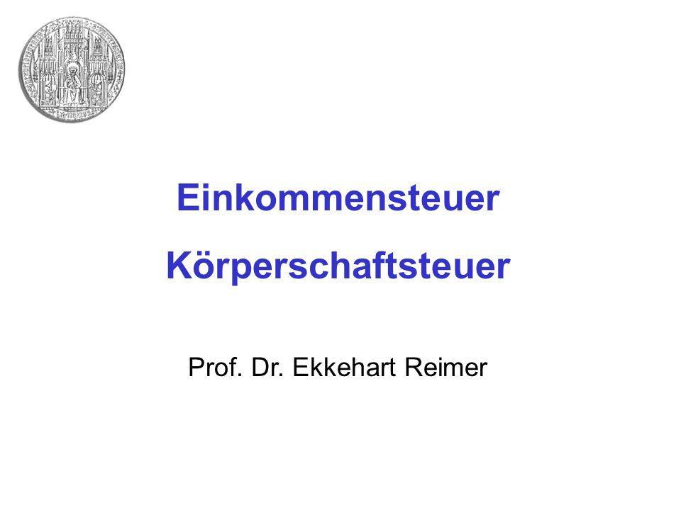 Prof. Dr. Ekkehart Reimer