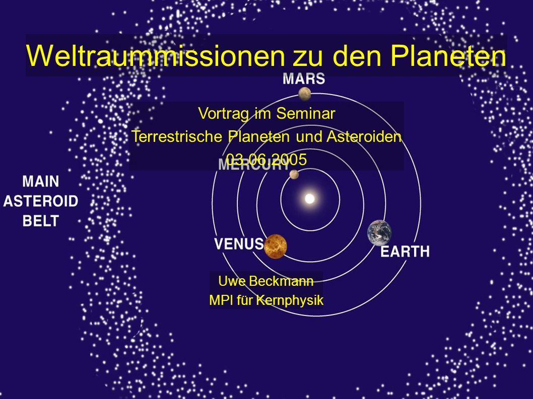 Terrestrische Planeten und Asteroiden