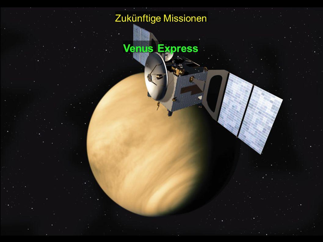 Zukünftige Missionen Venus Express