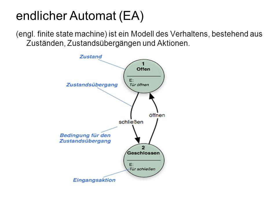 endlicher Automat (EA)